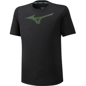 Mizuno Core Graphic RB Camiseta Hombre, black